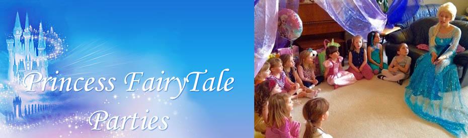Princess Fairytale Birthday Parties in Winnipeg